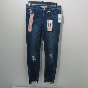 Almost Famous Mid-rise Cropped Jeans Women Size 3
